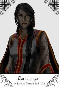 The immortal lady Carashanza