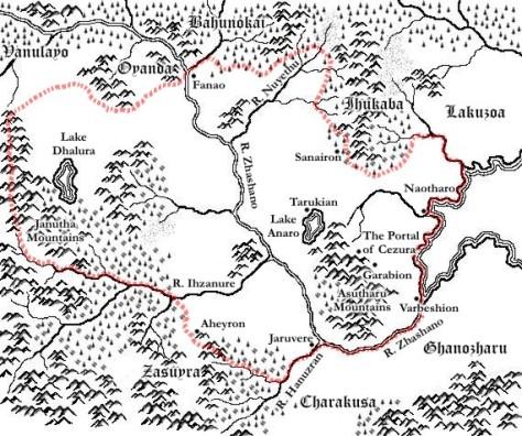 Eremiro old map