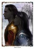 Zotharan and Eurlorian from The Immortals of Askamar