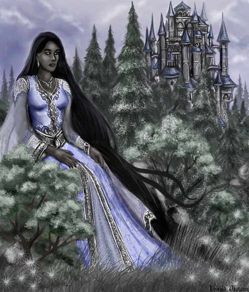 Liralian, the main protagonist of the Shekruvaris Trilogy. As one of the nine immortal rulers of the magical realm, she weilds tremendous power and is burdened by a great sense of responsibility. Liralian longs to reform the society of the Ankaykari and bring justice to the human world, but the centuries of conflict, failure and devestating mistakes sometimes leave her feeling exhausted...