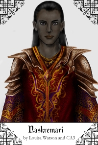 The immortal lord Naskremari, ruler of the Court of Burshnar