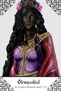 The immortal lady Olemnashial