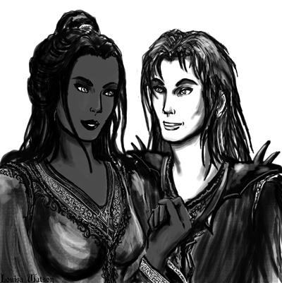 Ruzenathra and Xanuspari