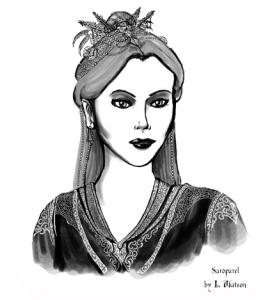 Saroparel Portrait