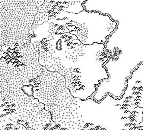 Ummere Old Map