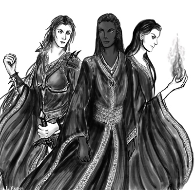 Zotharan, Xanuspari and Kurunari