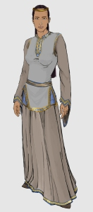 Tuyaz-Oan Noblewoman, created with the help of Character Artist 3 (CA3)