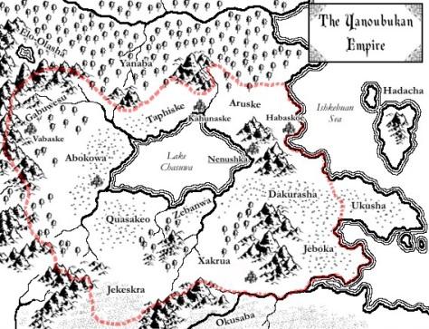 A map of Yanbuka created using CC£