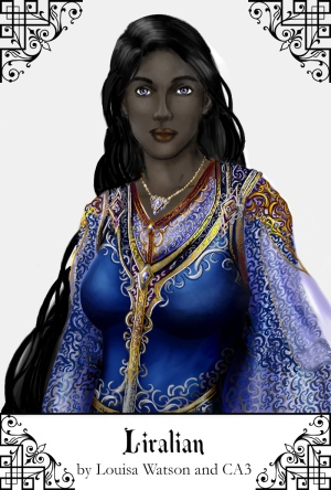 The immortal Lady Liralian, ruler of the Court of Barezeth