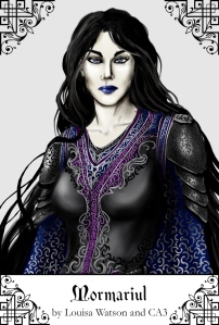 The immortal Lady Mormariul, ruler of the Court of Zepzaris