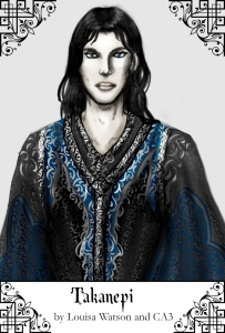 The immortal Lord Takanepi, ruler of the Court of Nezruthar