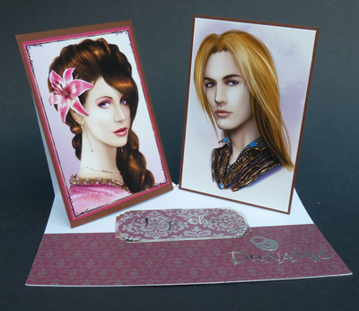 A handmade greeting card created by Bloomingorgeous4u