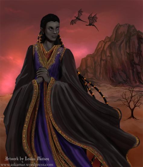 The immortal Lord Daskesurul by Louisa Watson