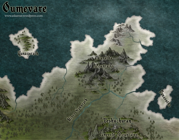 A map of Oumevare