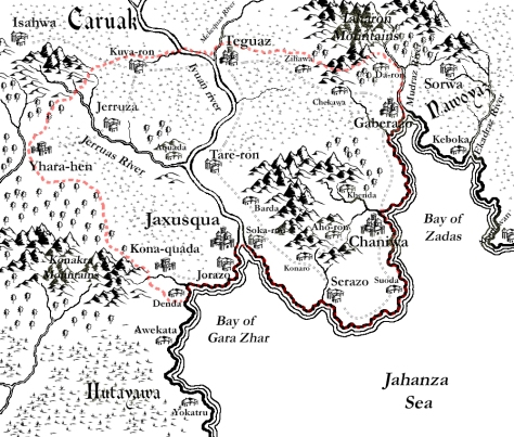 A map of Bakoqua