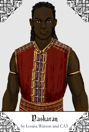 A portrait of Naskaran