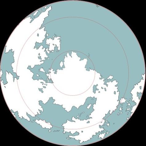 The north pole of Udaris