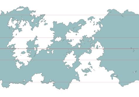 A map of Udaris drawn in September 2017