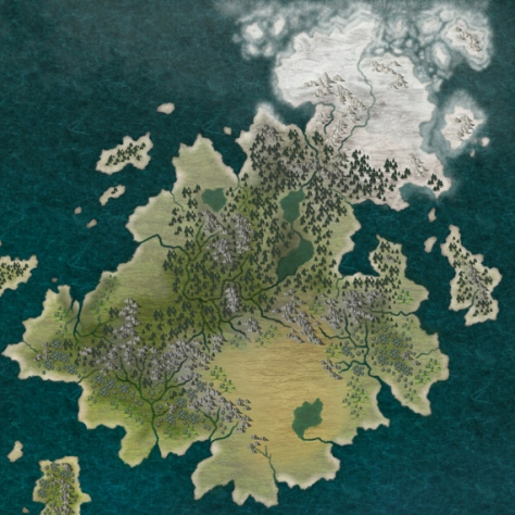 An old map of Tanathia