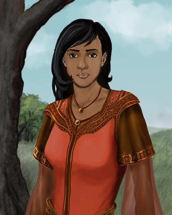 A portrait of Danira