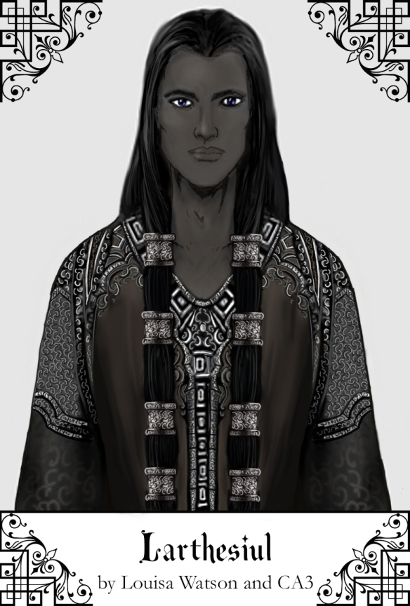 A portrait of Larthesiul created using Character Artist 3