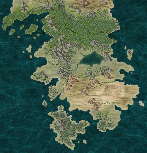 A map of Oborsurea created with CC3