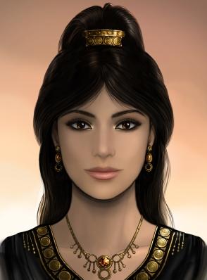 A portrait of Yaresora by Maggie