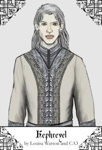 A portrait of Kephreyel created using CA3
