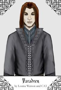 A portrait of Varadren created using CA3