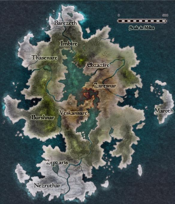 A map of Askamar